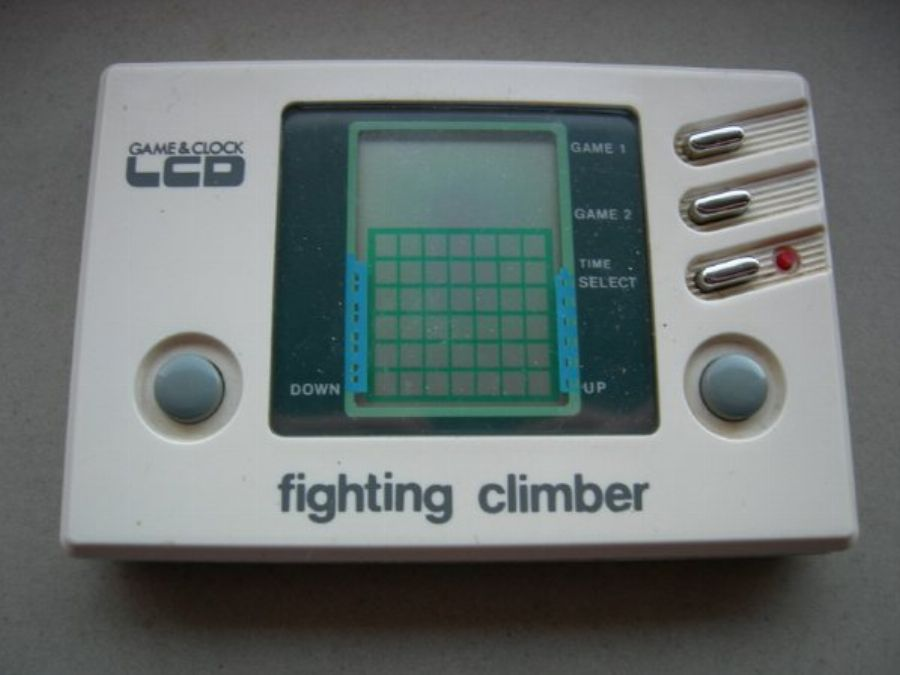 Fighting Climber